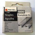 Sponky Rexel Romablok 15, 1000ks