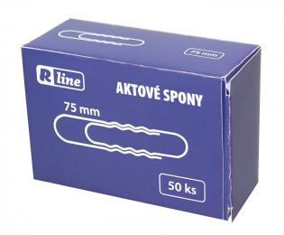 Aktové spony Economy - 75 mm, 50 ks