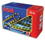 Aktové spony Conmetron - 50 mm, 25 ks zebra