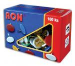 Připínáčky barevné Conmetron  - 100 ks