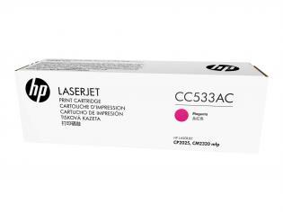 HP purpurový (magenta) toner, CC533AC, 304A