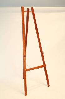 Dřevěný třínohý stojan 165 cm, mahagon