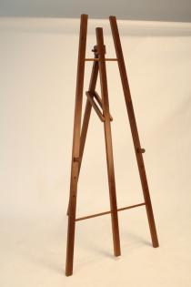 Dřevěný třínohý stojan 165 cm, tmavě hnědý