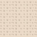 Balicí papír - hlava kočky 1