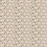Balicí papír - hlava kočky 2