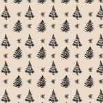 Balicí papír - stromeček