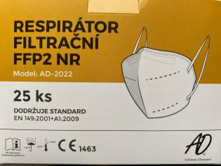Respirátor AD-2022 FFP2