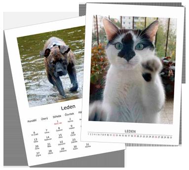 Kalendáře - Z Vašich zaslaných nebo donesených fotografií