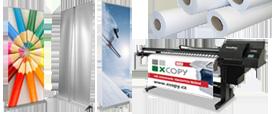Velkoformátový venkovní UV tisk, bannery, roll-upy, samolepky, velkoformátový venkovní UV tisk na desky
