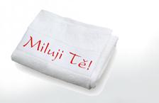Potisk ručníků